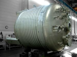 les réacteurs chimiques demi coquille