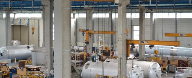 Un atelier de 15 000 m² pour une fabrication sans aucune sous-traitance.