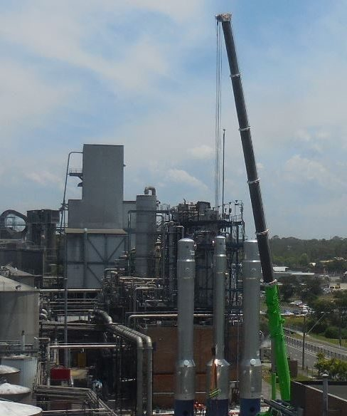 Cropped Reboilers Erection In Australia 4 1