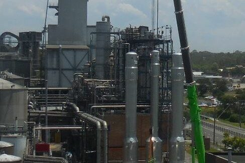 Cropped Reboilers Erection In Australia 4