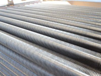 Les échangeurs thermiques Ecofinex® sont constitués d'un faisceau de tubes.