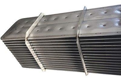 Les échangeurs à plaques soudées Compalex® sont équipés d'un faisceau de plaques