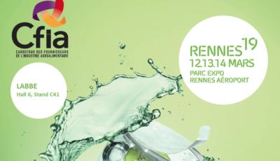 Labbe au CFIA de Rennes