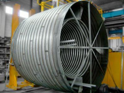 Serpentin de réacteur