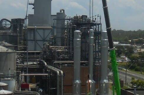 Reboilers Erection In Australia 4