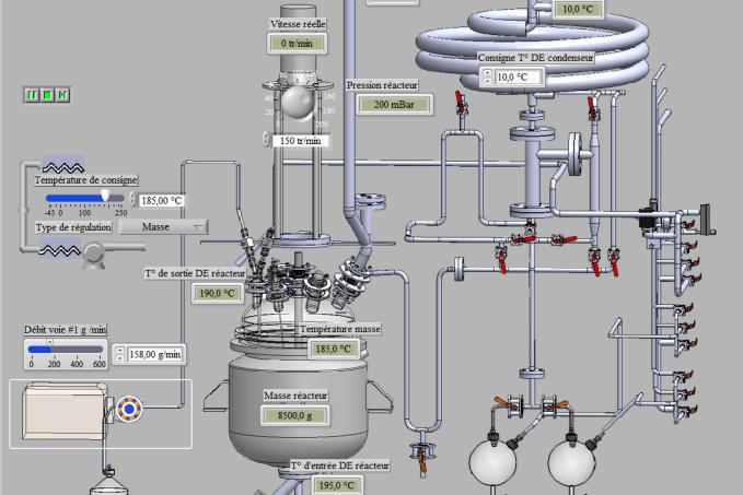 Unite De Distillation Automatisee Logiciel Chaudronnerie Labbe