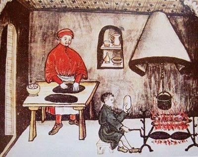 Chaudronnier Moyen Age